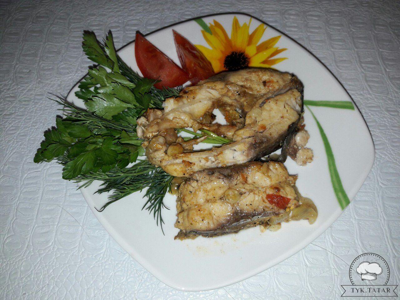 Айсылу Лероннан «Табада кызган сазан» рецепты